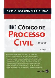 livros de direito que estão em alta Novo Código de Processo Civil Anotado Cassio Scarpinella Bueno