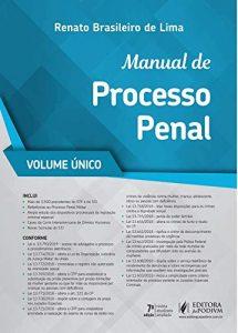 livros de direito Manual de Processo Penal Renato Brasileiro de Lima