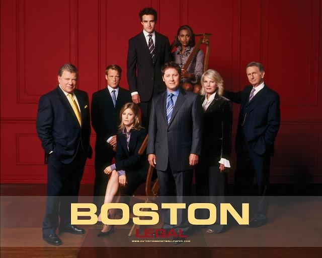boston legal série