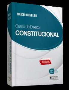 livros de direito Curso de Direito Constitucional Marcelo Novelino