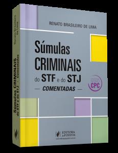 renato brasileiro súmulas criminais