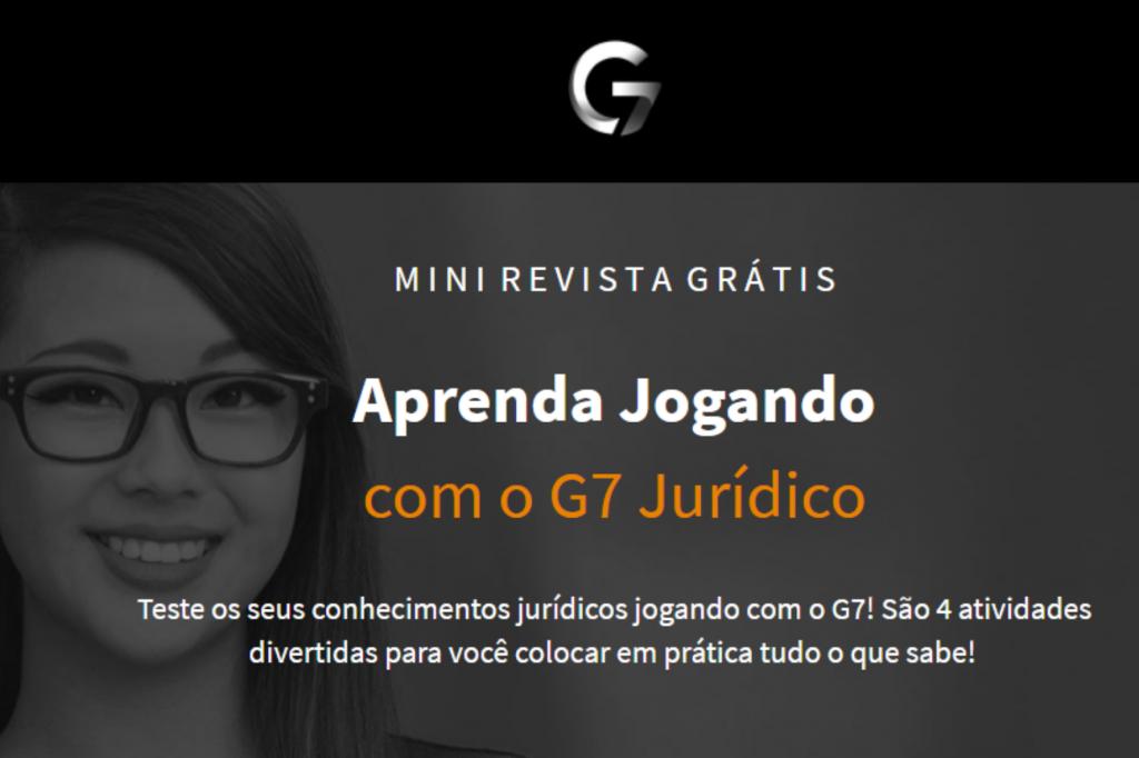 concentração para estudar banner mini revista g7 jurídico
